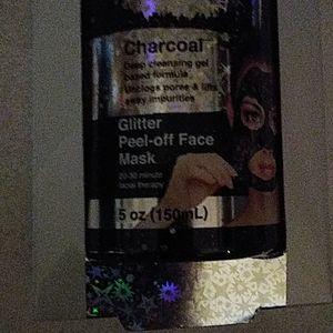 GLITTER CHARCOAL PEEL-OFF MASK 5OZ